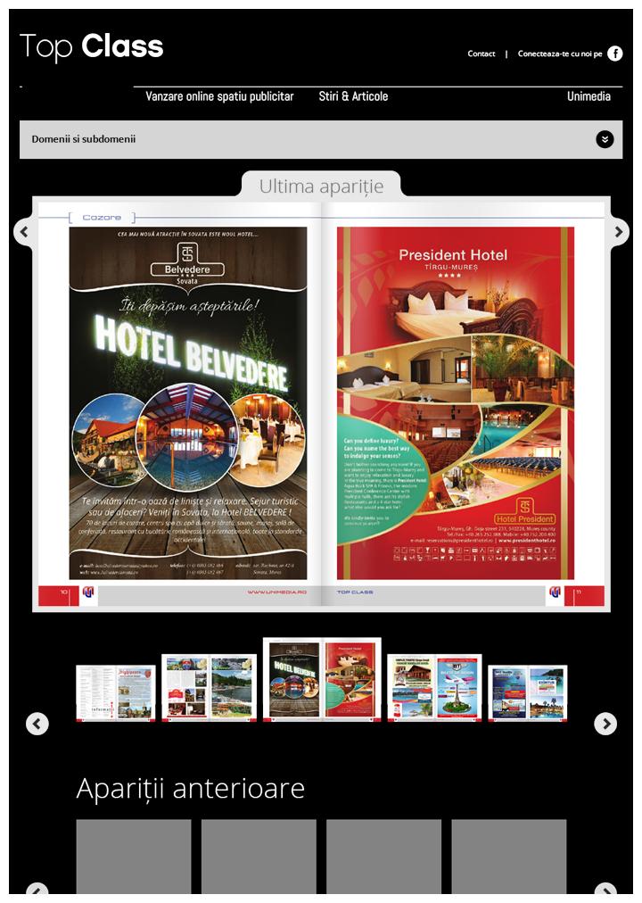 TopClass Homepage